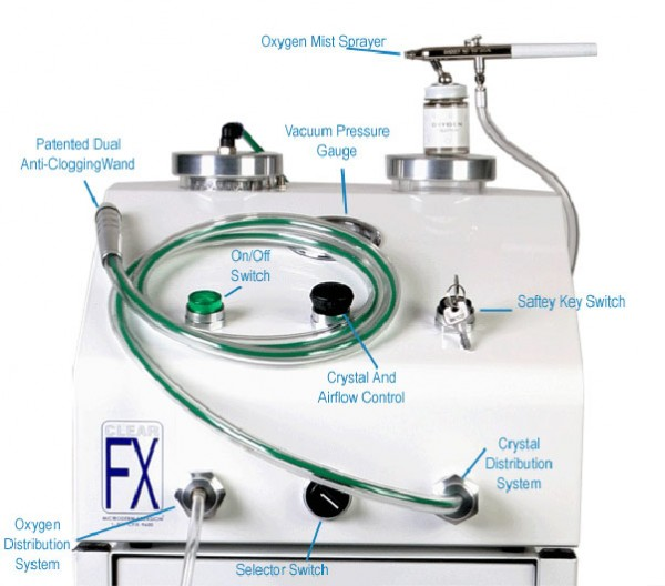 ClearFX Skin Microdermabrasion Machine CFX5000